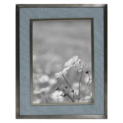 5  x 7  Linen Inlay Frame Blue - Threshold™