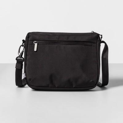 AntiTheft RFID Medium Crossbody Handbag Black - Made By Design™