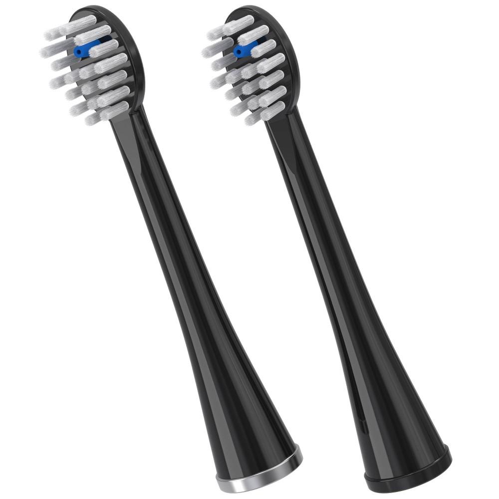 Waterpik Sonic Fusion Brush Heads Black 2ct