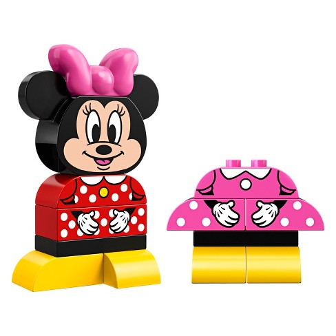 Lego Duplo Minnie Mouse My First Minnie Build 10897 Target