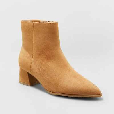 Women's Delilah Heeled Ankle Boots - A New Day™