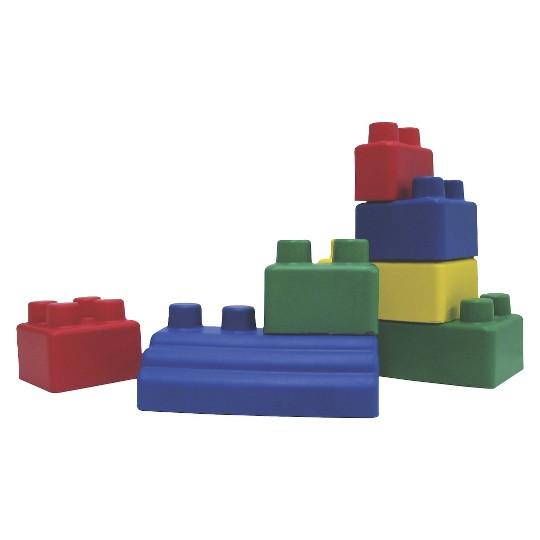 Edushape Mini Edu-Blocks Rubbery Blocks 26Pc image number null