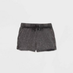 "Women's Mid-Rise French Terry Shorts 5"" - All in Motion™"