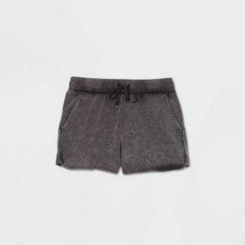 """Women's Mid-Rise French Terry Shorts 3.5"""" - All in Motion™ - image 1 of 3"""