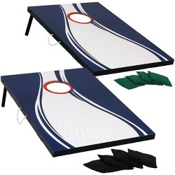 Remarkable Wild Sports Platinum Wooden Cornhole Bag Toss Set 2X3 Ft Ibusinesslaw Wood Chair Design Ideas Ibusinesslaworg