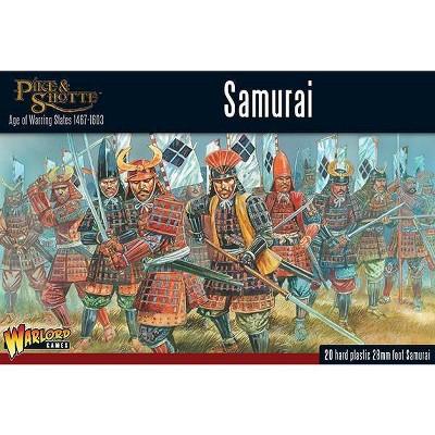 Samurai Infantry Miniatures Box Set