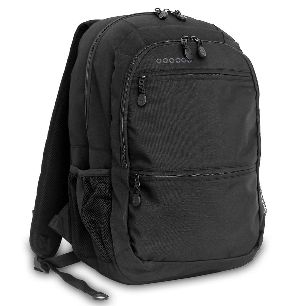 J World 18 Dexter Laptop Backpack Black