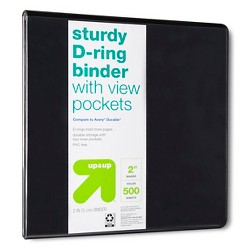 "2"" 3 Ring Binder Clear View - Up&Up™"