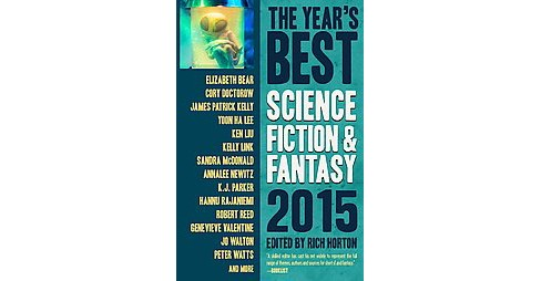 Year's Best Science Fiction & Fantasy 2015 (Paperback) - image 1 of 1
