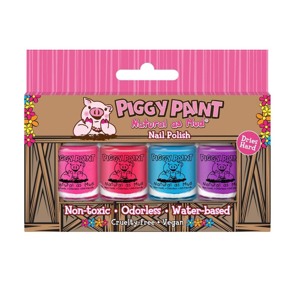 Discounts Piggy Paint Nail Polish Set - 0.48 fl oz - 4pk