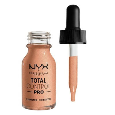 NYX Professional Makeup Total Control Pro Illuminator Foundation - 0.43 fl oz