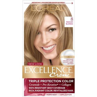 Hair Color: L'Oreal Paris Excellence Créme Permanent Hair Color