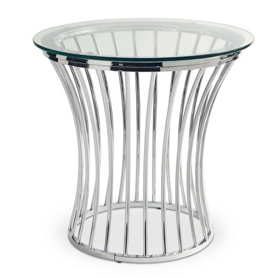 Astoria End Table Chrome - Picket House Furnishings