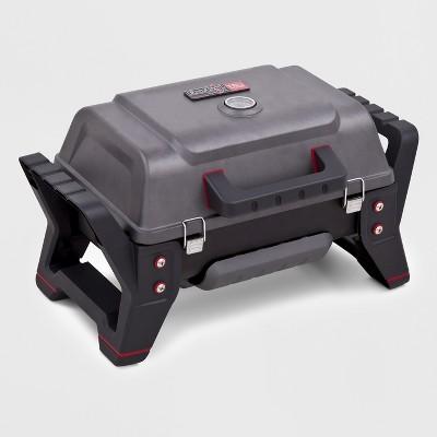 Char-Broil TRU-Infrared Grill2Go X200 Tabletop 9,500 BTU Gas Grill 12401734 - Gray
