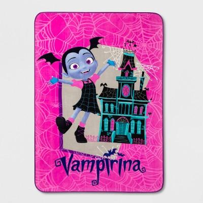 Vampirina Twin Bed Blanket Pink