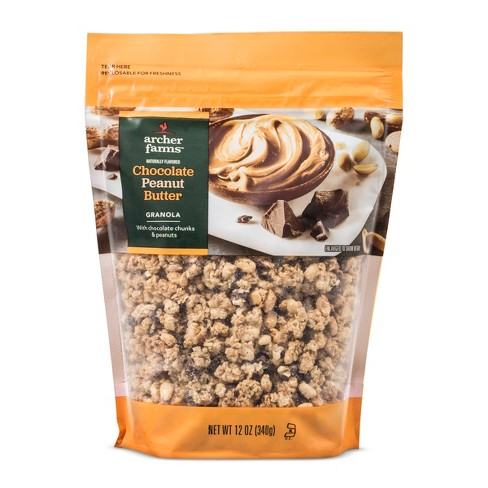 Chocolate Peanut Butter Granola - 12oz - Archer Farms™ - image 1 of 1