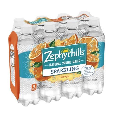3867eef3eb Zephyrhills Orange Mineral Water - 8pk/16.9 Fl Oz Bottles : Target