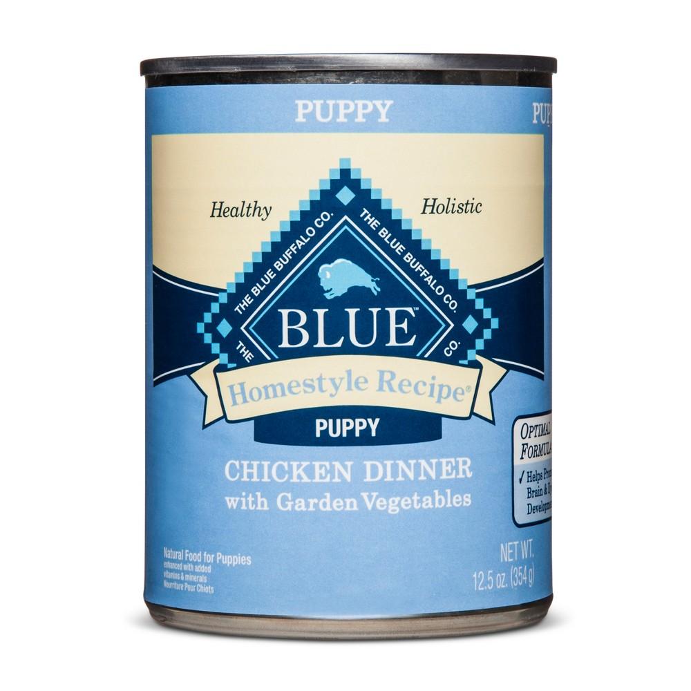 Blue Buffalo Homestyle Recipe Puppy Chicken Dinner - Wet Dog Food - 12.5oz