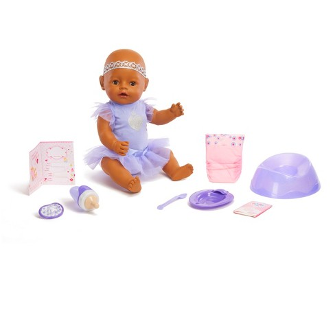 BABY Born Interactive Doll - Purple Outfit with Headband - image 1 of 4