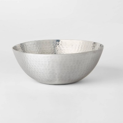 118.3oz Aluminum Hammered Serving Bowl  - Threshold™