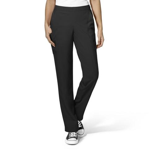 WonderWink Women's Full Elastic Straight Leg Scrub Pant - image 1 of 2