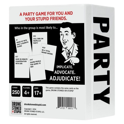 who s most likely to a party game target