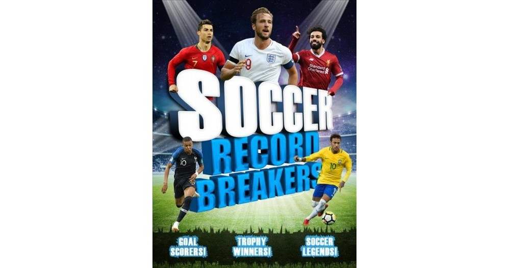 Soccer Record Breakers - by Clive Gifford (Paperback)