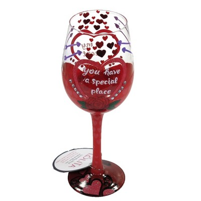 """Tabletop 9.0"""" You Have Special Place In Heart Valentine's Day Love Heart Enesco  -  Drinkware"""