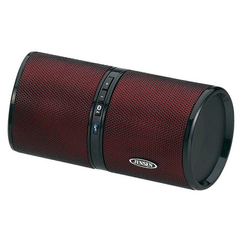 Jensen Bluetooth Wireless Speaker - Red (SMPS-622-R) - image 1 of 1