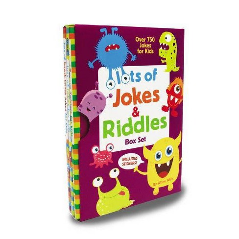 Lots of Jokes and Riddles Box Set - by  Whee Winn (Paperback) - image 1 of 1