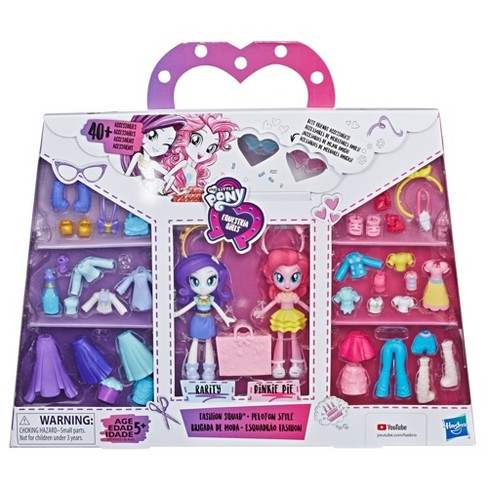 My Little Pony Equestria Girls Fashion Squad Rarity and Pinkie Pie Mini Doll Set - image 1 of 4