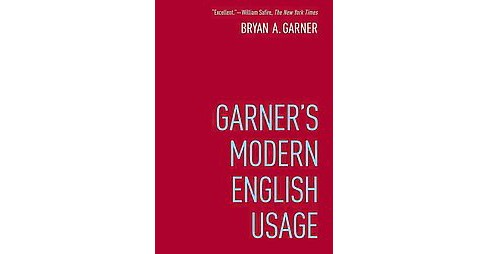 Garner's Modern English Usage (Hardcover) (Bryan A. Garner) - image 1 of 1