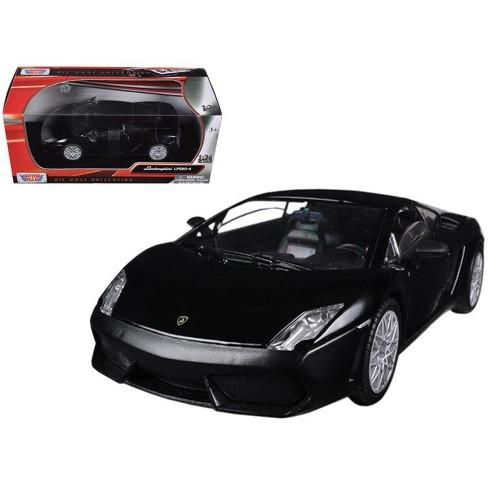 Lamborghini Gallardo LP-560-4 Matt Black 1/24 Diecast Car Model by Motormax - image 1 of 1