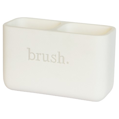 Toothbrush Holder White - 88 Main® - image 1 of 1