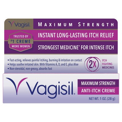 Vagisil Maximum Strength Feminine Anti-Itch Cream - 1oz