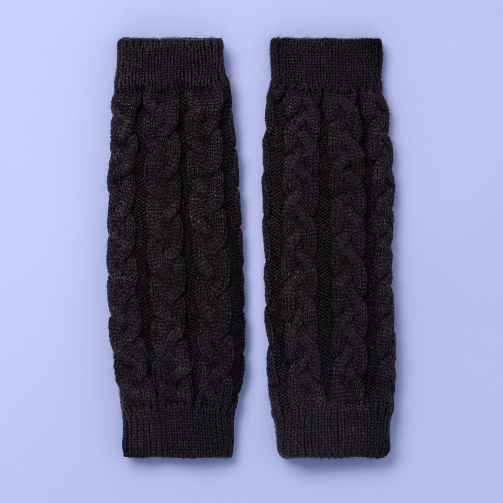 Image of Girls' Dance Leg Warmers - More Than Magic Black One Size, Girl's