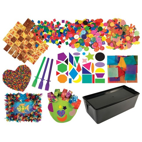 Art Start Kit 2 - Assortment of Material for Collages and 3D Projects - image 1 of 4