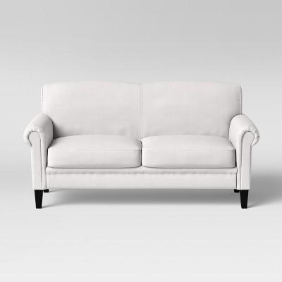Belmont Rolled Arm Sofa Cream - Threshold™