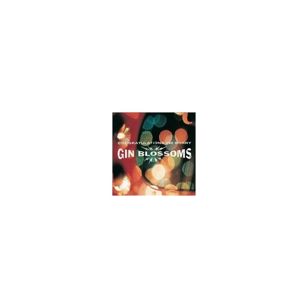 Gin Blossoms - Congratulations I'm Sorry (Vinyl)