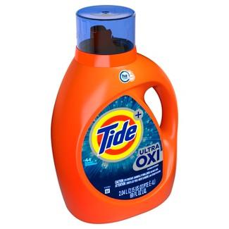 Tide Plus Ultra Oxi Liquid Laundry Detergent - 69 fl oz