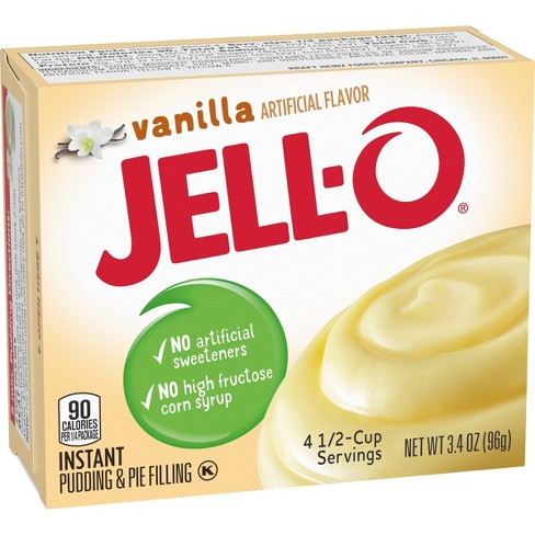 JELL-O Instant Vanilla Pudding & Pie Filling - 3.4oz - image 1 of 4