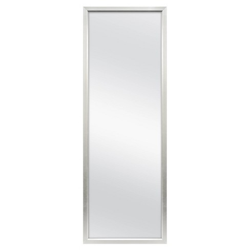"""24"""" x 68"""" Rectangle Leaner Floor Mirror Silver - Threshold™ - image 1 of 4"""
