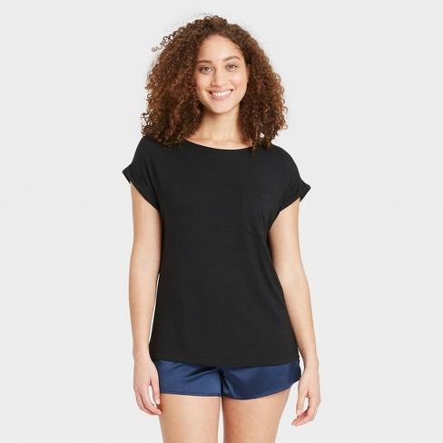 Women's Beautifully Soft Short Sleeve Sleep T-Shirt - Stars Above™ - image 1 of 3