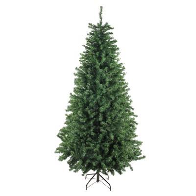 Darice 9' Unlit Artificial Christmas Tree Medium Canadian Pine