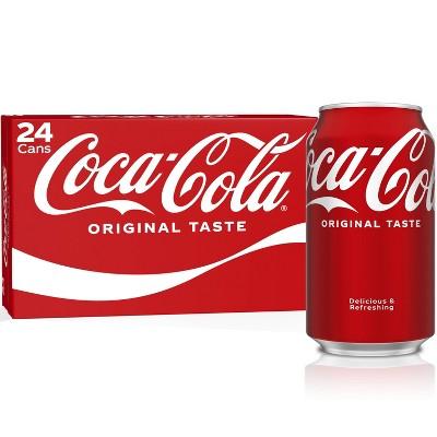 Coca-Cola - 24pk/12 fl oz Cans