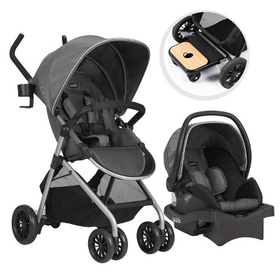Evenflo Sibby Travel System - Highline Gray