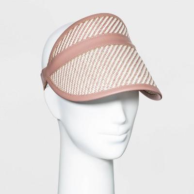 Women's Straw Visor Hat- Universal Thread™
