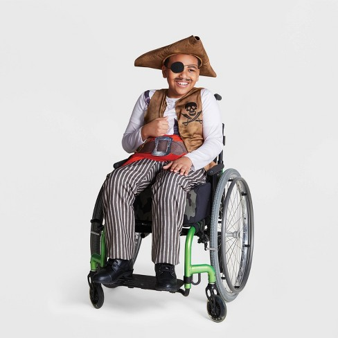 Boys' Adaptive Pirate Halloween Costume - Hyde & EEK! Boutique™ - image 1 of 1