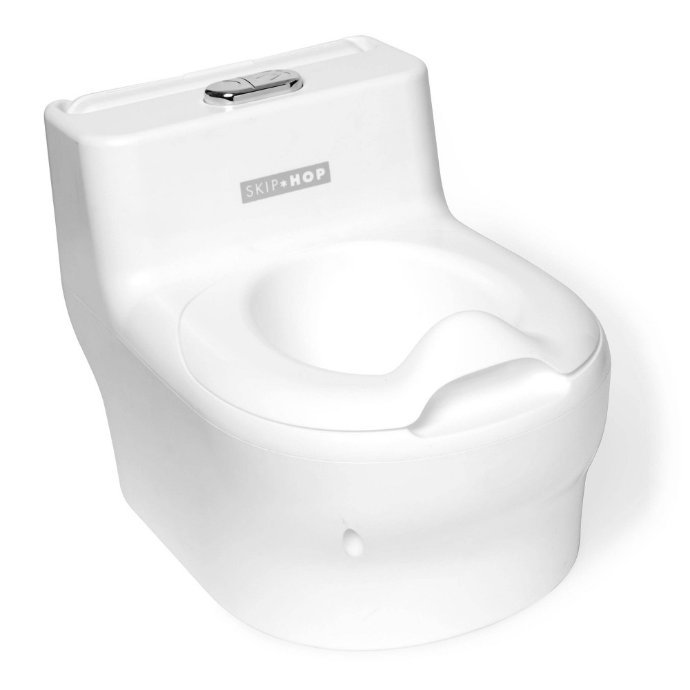 Image of Skip Hop Made for Me Toddler Potty, White