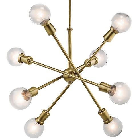 """Kichler 43118 Armstrong 8 Light 30"""" Wide Sputnik Chandelier - image 1 of 4"""